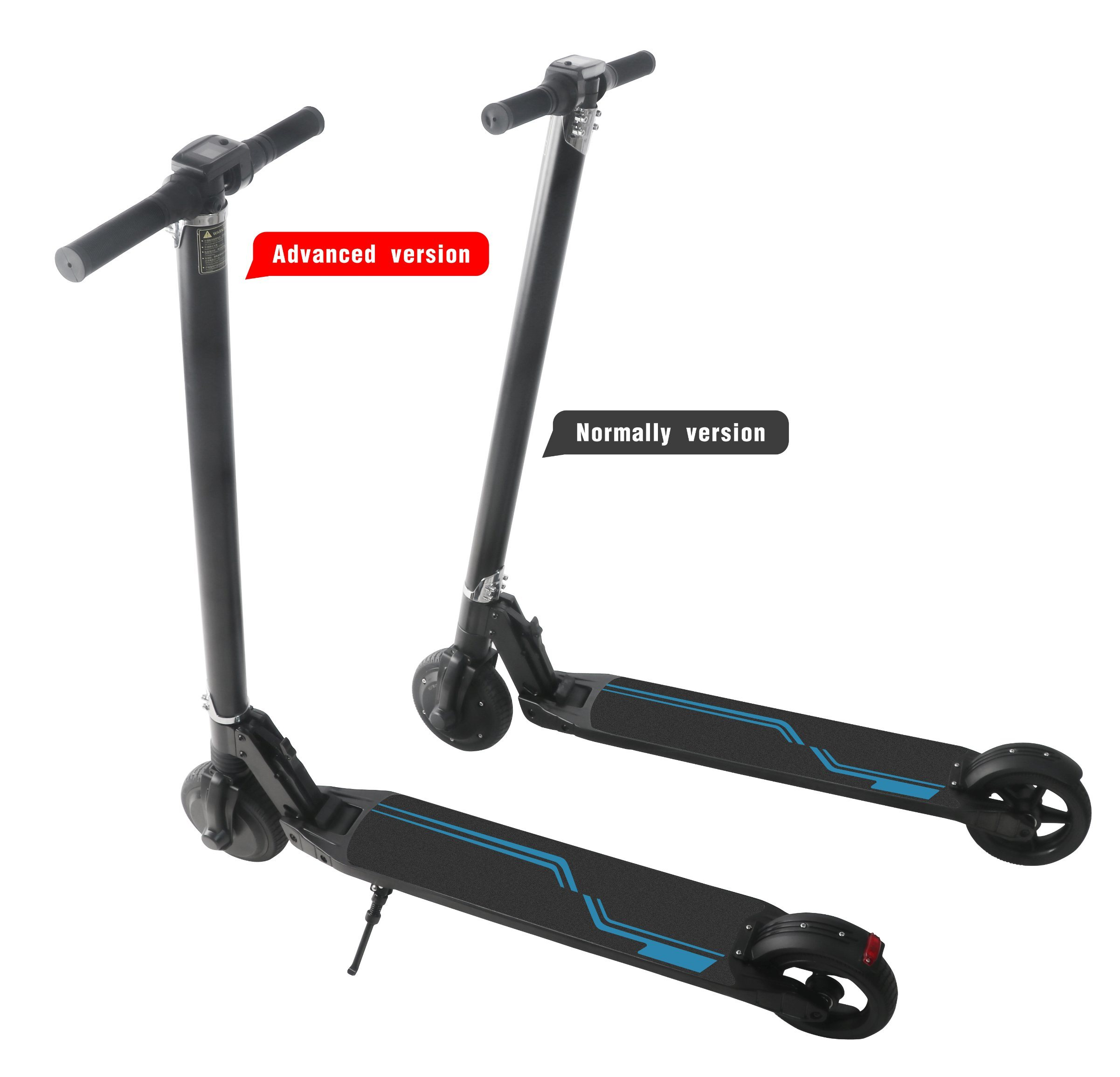 Patented Product 2 Wheel Electric Self Balancing Standing Kick Scooter