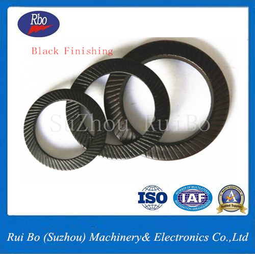 Stainless Steel DIN9250 Double Side Knurl Lock Washer Metal Gasket Flat Washer Spring Washer