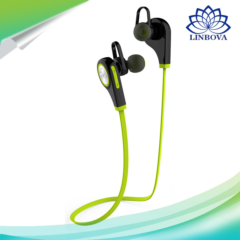 Bluetooth 4.1 Headset Wireless Bluetooth Headphones Sport Bluetooth Earphone in-Ear Remote Mic Stereo Headset Non-Magnetic Control