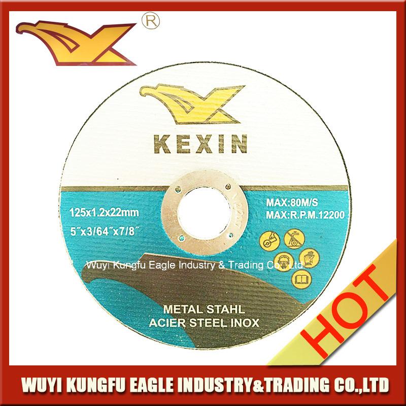 5′′ 125X1.2X22.2mm Cutting Disc