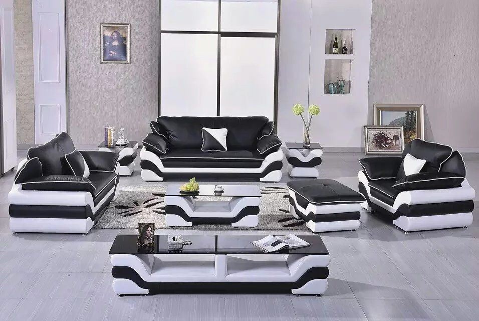Living Room Leather Sofa for Modern Genuine Leather Sofa Sofa Furniture