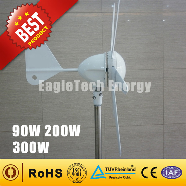Wind Power System 90W-300W Wind Driven Generator