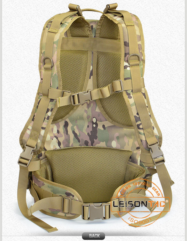 Military Backpack with ISO Standard Waterproof and Flame Retardant
