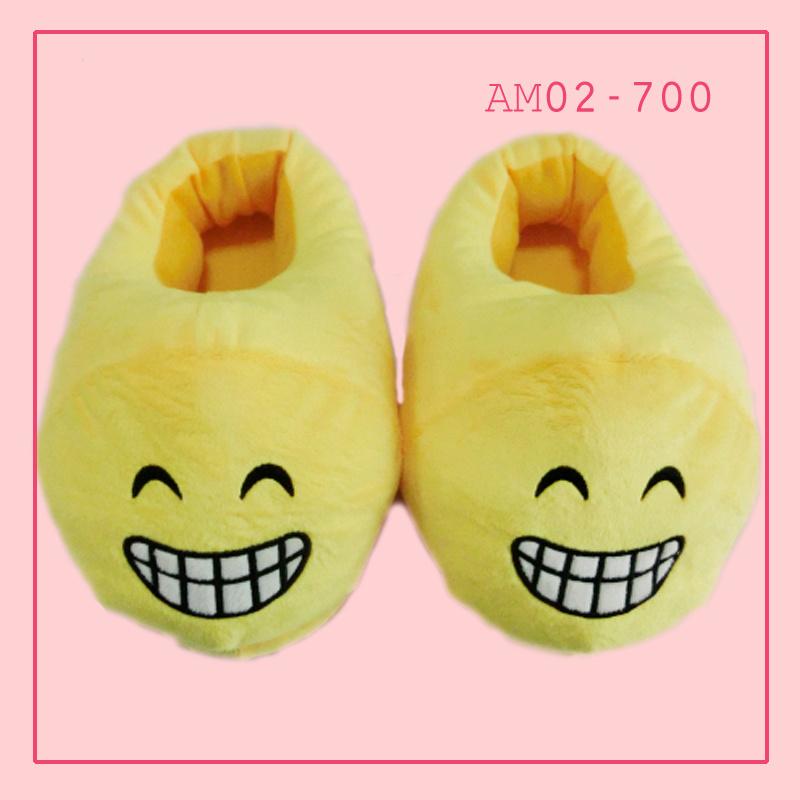 Woman Animal Emoji Indoor Slippers Shoes Footwear
