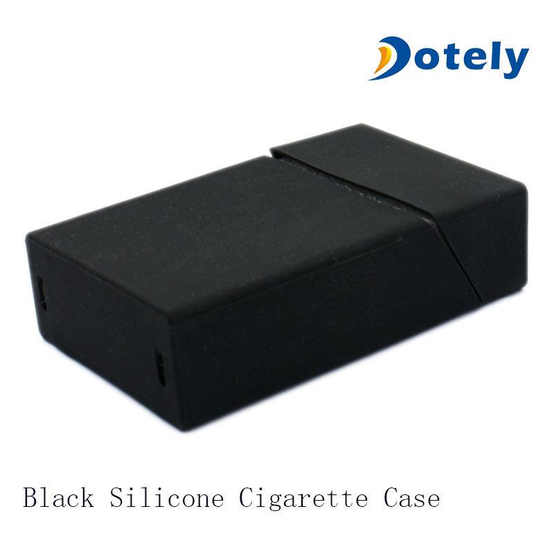 Black Silicone Cigarette Case Box Cover