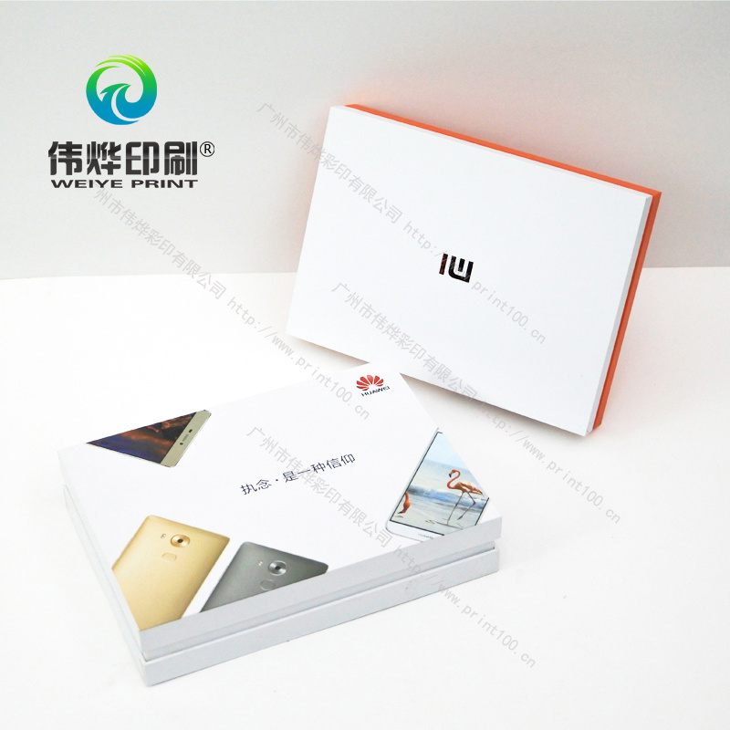 Cosmetic Paper Printing Packaging Mobile Electronic Box, OEM/ODM, Design Freely
