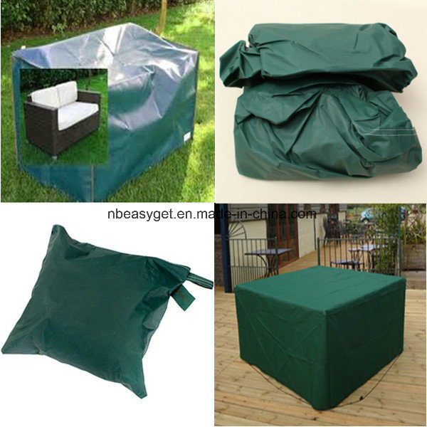 Square Patio Table and Chair Set Cover Waterproof Outdoor Furniture Cover, Durable Patio Table Cover Outdoor Garden Cover Shelter Esg10165