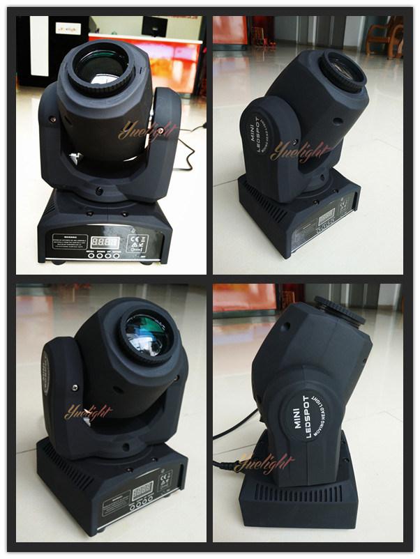 Guangzhou Popular 10W Mini LED Moving Head Light Spot Light
