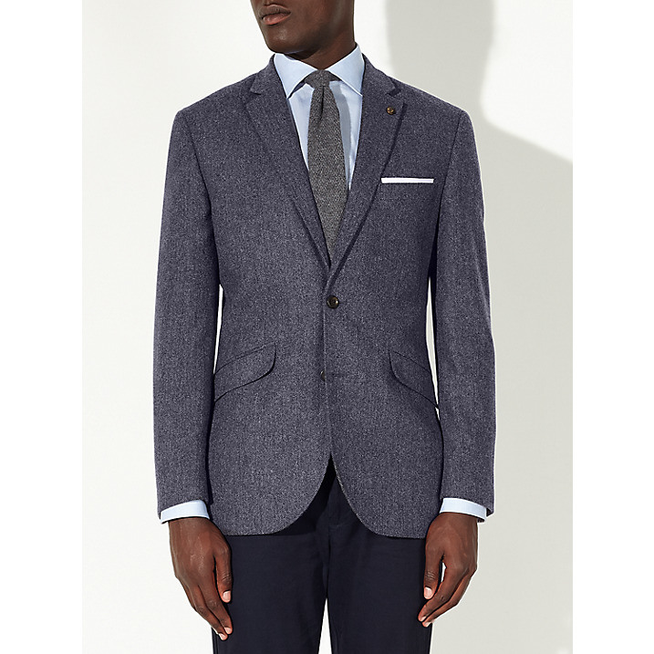 OEM Men′s Latest Design Herringbone Blazer for Men