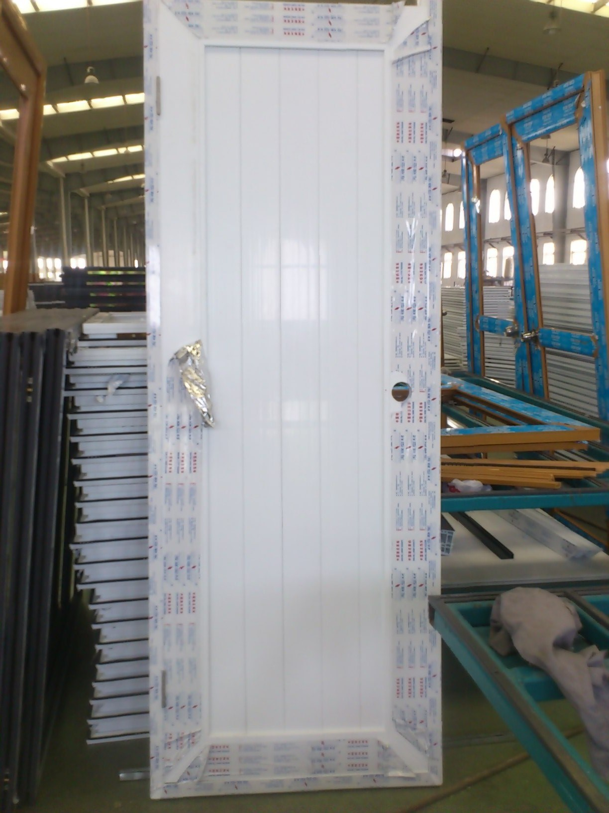 Bathroom Upvc Doors china conch white color pvc/upvc bathroom door - china pvc door