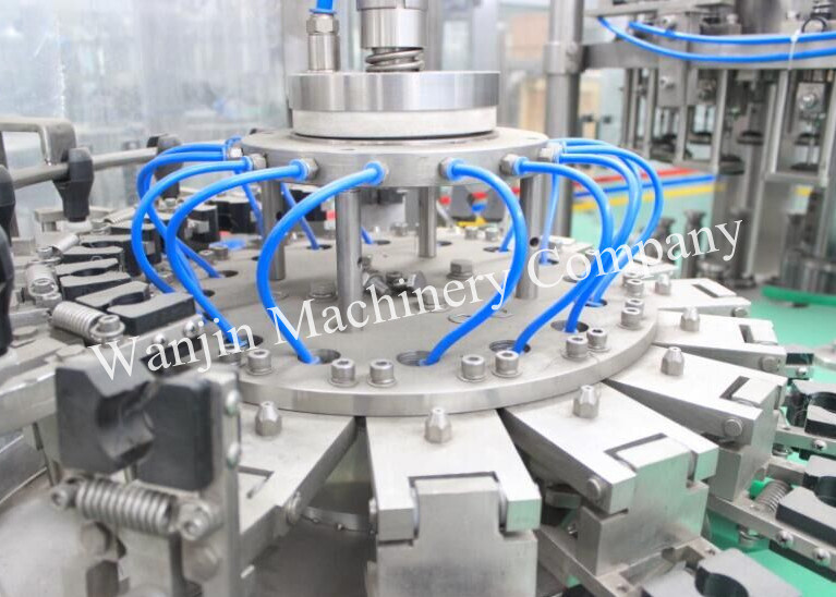 Full Automatic Glass Bottled Beer Filling Packing Machine
