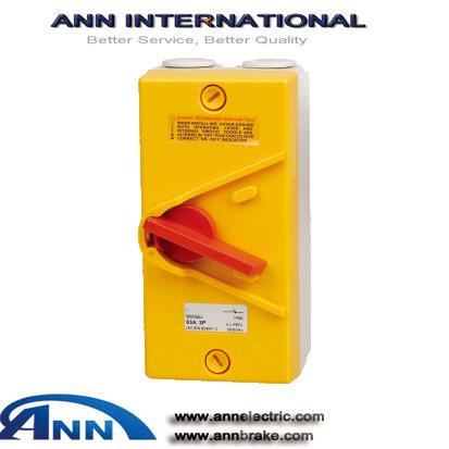 IP65 Ukn Series Enclosed Isolator, Switch Soket
