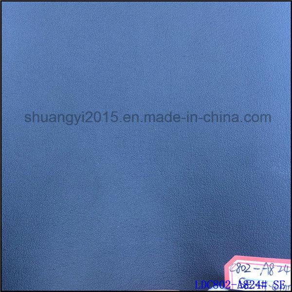 1.4mm Plain Grain R61 Microfiber Leather for Shoes Bags