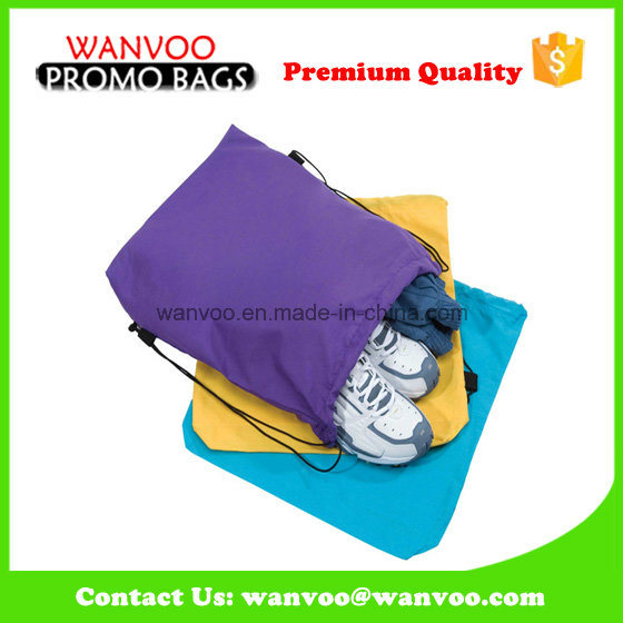 Promotional Outdoor Polyester Shoe Bag for Sport