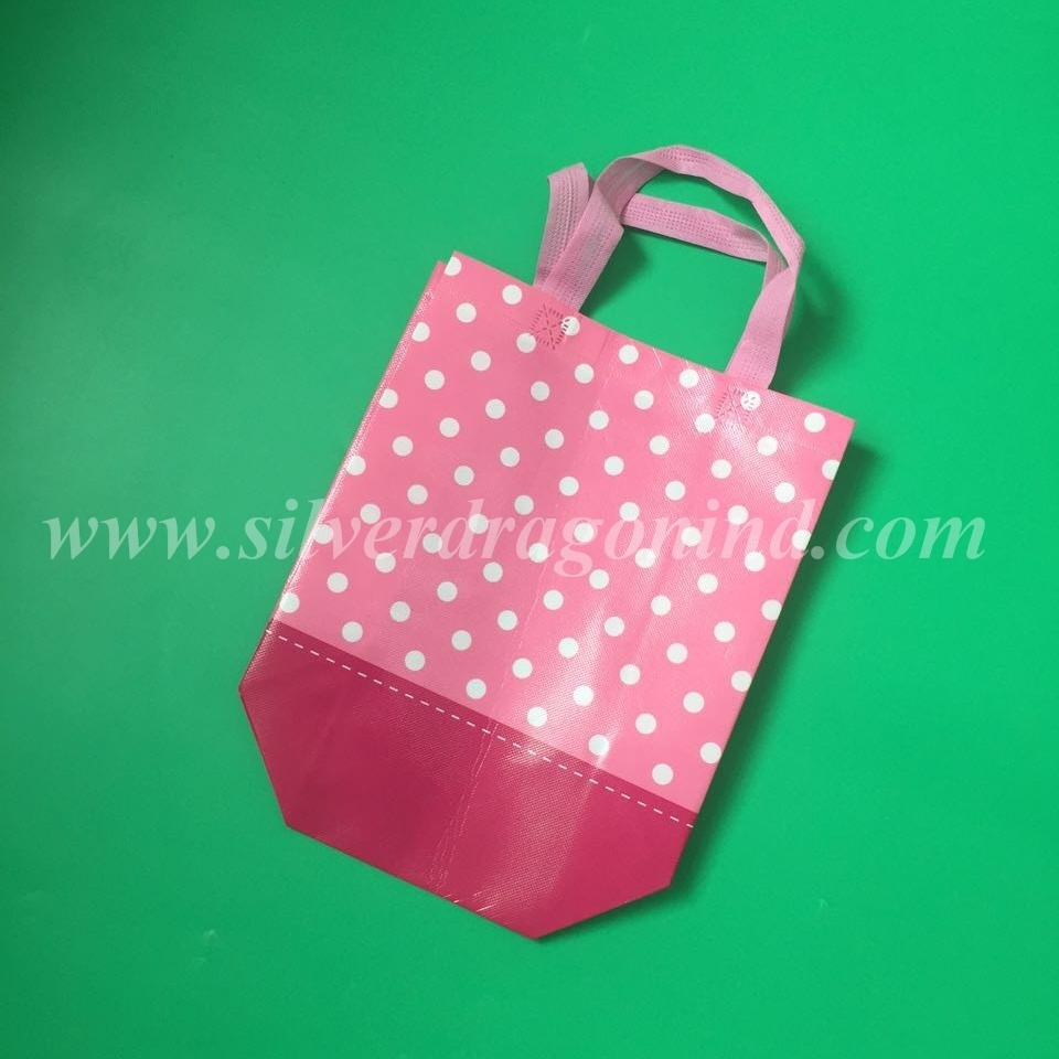 Custom Logo Printed Promotion Reusable Laminated Non Woven Bag