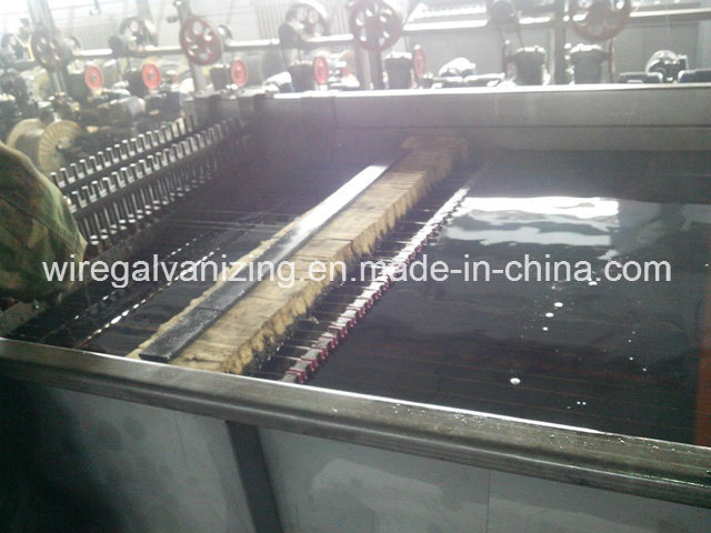 Steel Wire Oil Quenching Production Line with Ce Certificate