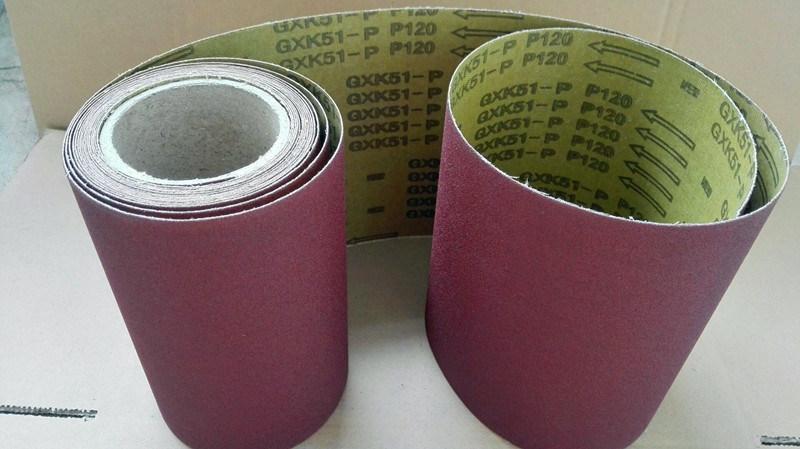 Wood Polishing Aluminum Oxide Abrasive Cloth Gxk51-P