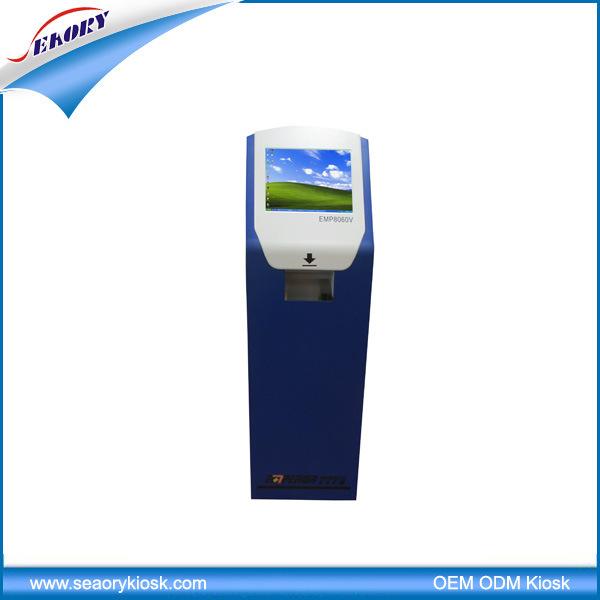 Good Quality Custom Self-Service Kiosk Terminal Machine with Card Reader