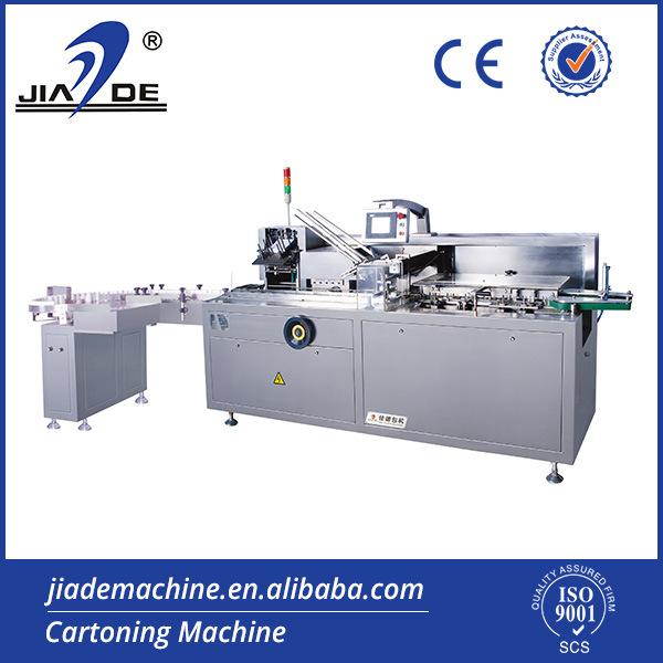 Automatic Horizontal Bottle Carton Machine (JDZ-100p)
