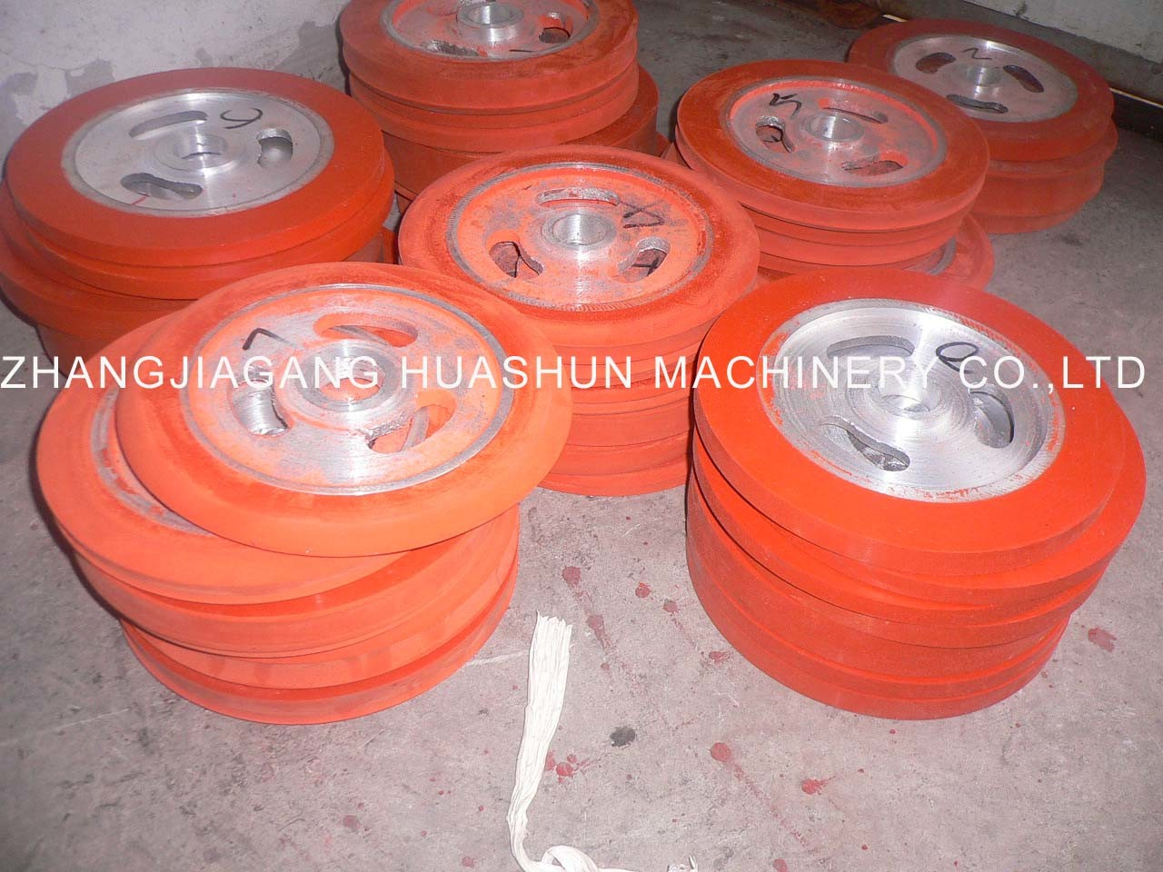 Silicon Wheels for Hot Stamping PS Moulding