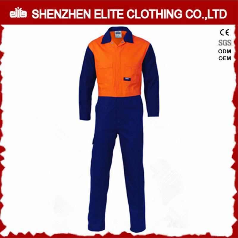 Custom Men Safety Reflective High Visibility Coveralls (ELTCVJ-31)
