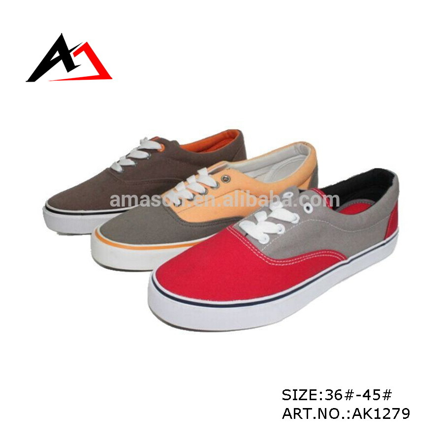 Canvas Casual Shoes New Arrivals Fashion Leisure Sneakers (AK1279)