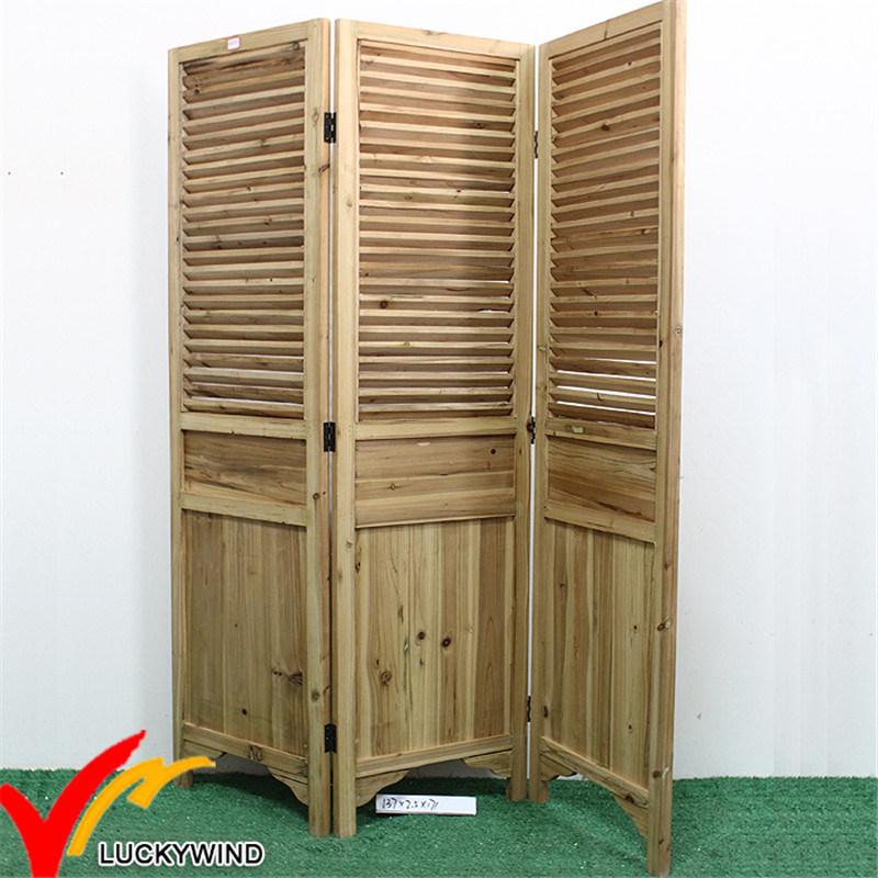 Antique Wooden Indoor Folding Screens Lwpw11A051