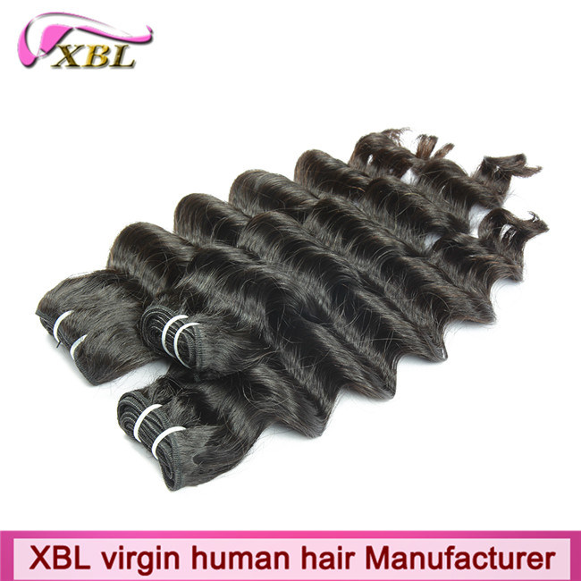 No Tangle Virgin Peruvian Wet and Wavy Human Hair