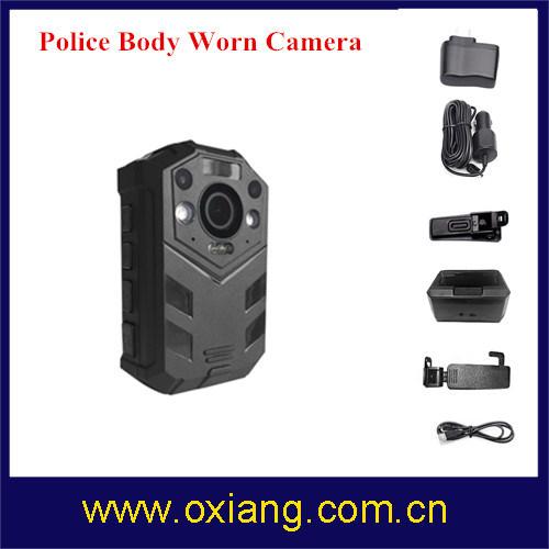 2 Meters Shock-Proof IR Night Vision IP67 Full HD1080p Police Body Worn DVR