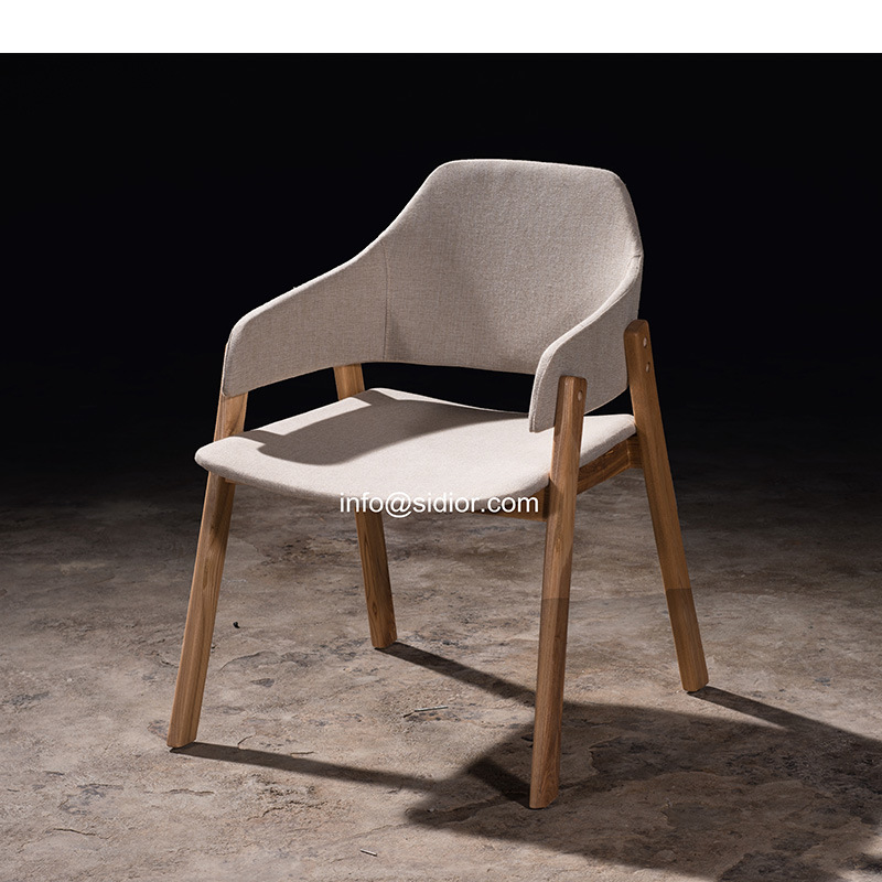 (SL-8112) Modern Hotel Restaurant Dining Furniture Solid Wood Chair Wooden Dining Chair
