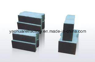High Alumina Abrasion Resistant Brick / Anti Abrasion High Alumina Brick