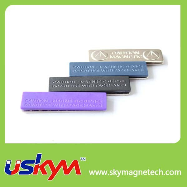 High Quality Custom Magnetic Name Badge / Name Holder Attachment