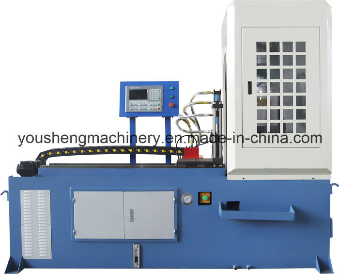CNC Servo Feeding Pipe Cutting Machine No Tailing