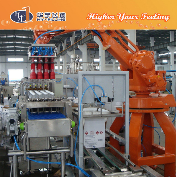 Hy-Filling Robot Type Palletizer Equipment