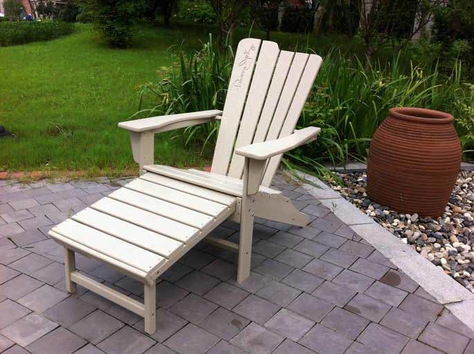 Traditional Polywood Adirondack Chair Garden Furniture