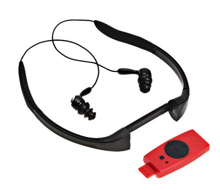 Fashion Headset FM Radio Waterproof MP3 Player Ipx8 Waterproof