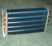 Aluminum Tube Fin Type Evaporator and Condenser