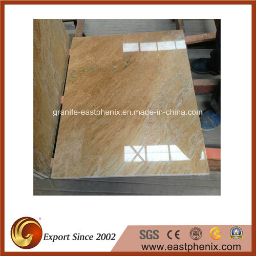 Imported Funcy Giallo Quartzite Stone Slab for Countertop/Wall Tile