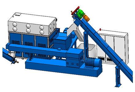High Efficiency Multi Screw Post-Processing Module