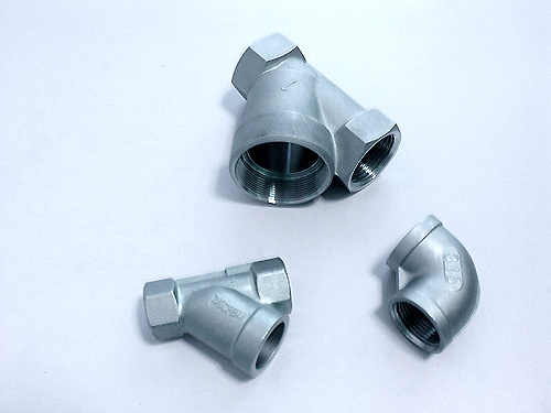 China aluminum die casting pipe fitting