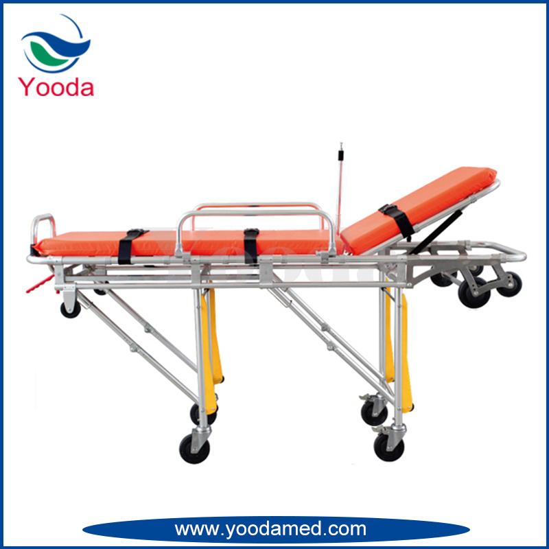 Aluminum Alloy Automatic Loading Ambulance Stretcher
