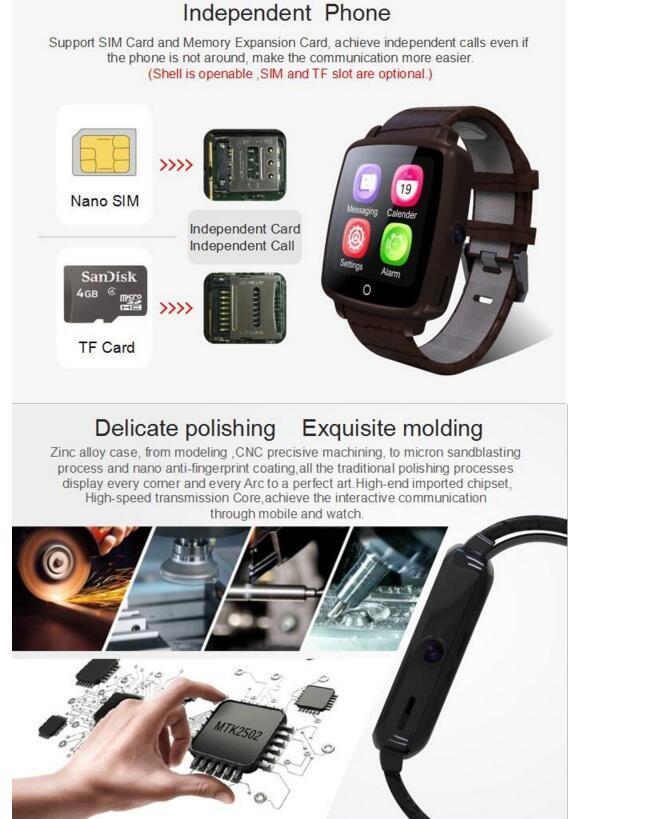 Smart Watch Mobile Phone Bluetooth Smartwatch with Camera U11c Smart Watch