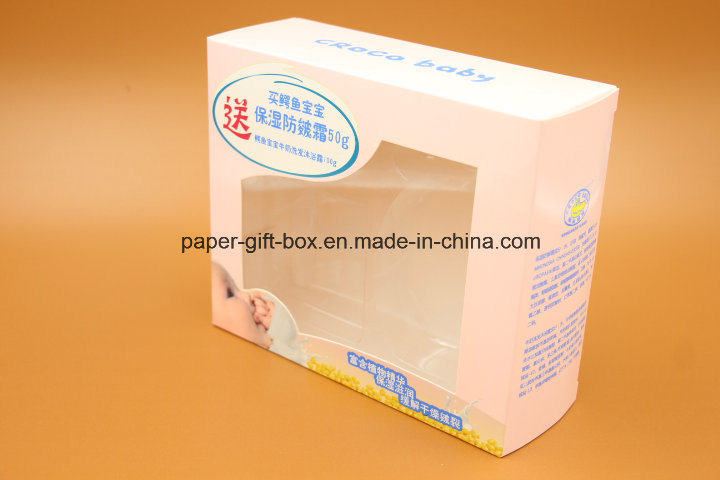 Paper Box with Clear PVC Window