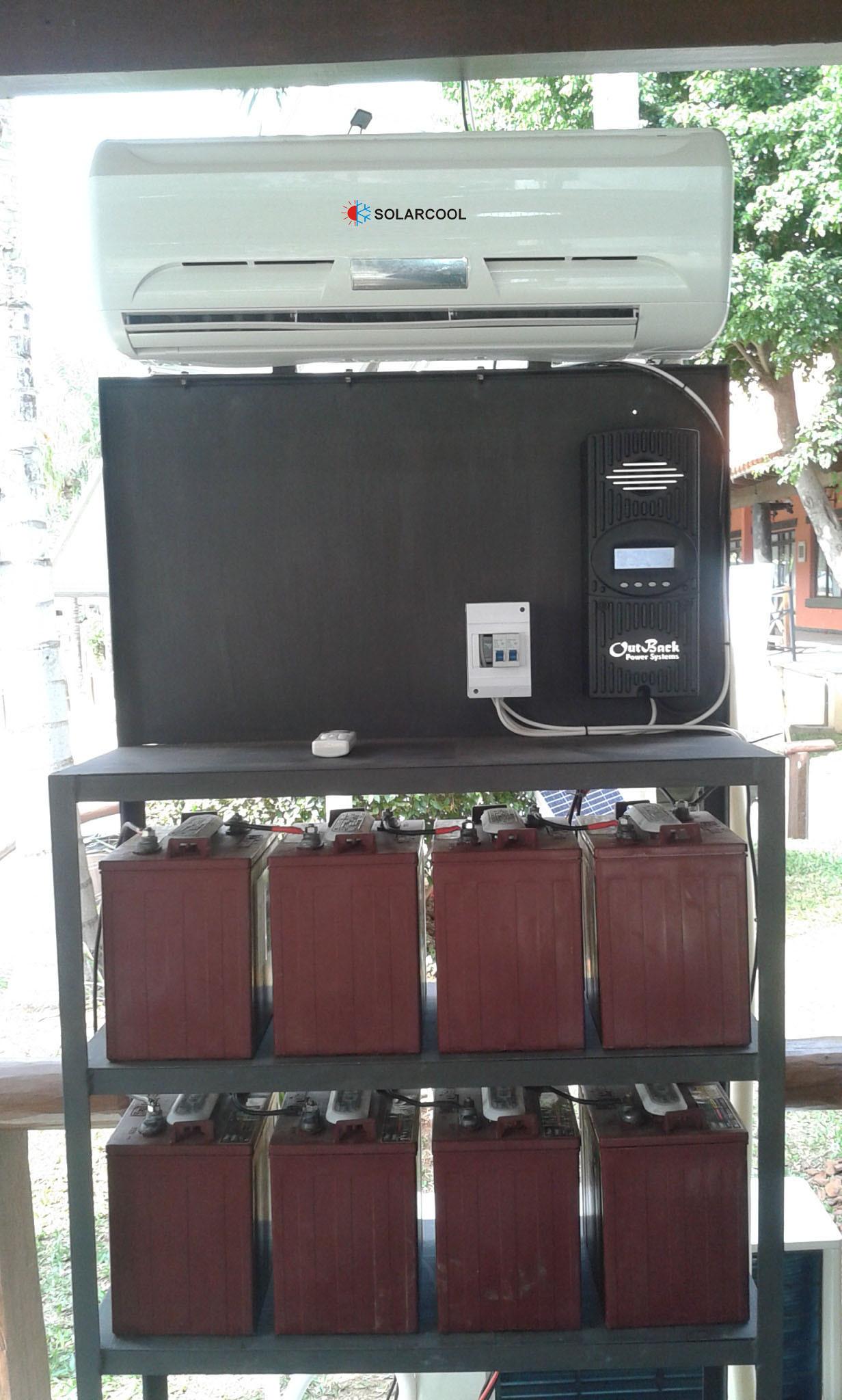 DC 24V Solar Air Conditioner