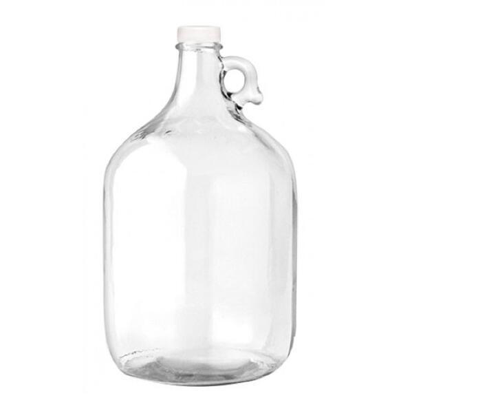 1gallon 1L 250ml Glass Water Bottle/Beverage Bottle with Screw Cap