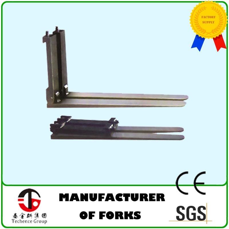 Folding Forks, Forklift Attachment Folding Forks