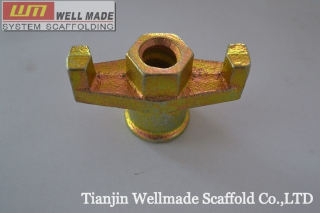 Concrete Forming Formwork Metal Tie Rod Wing Nut