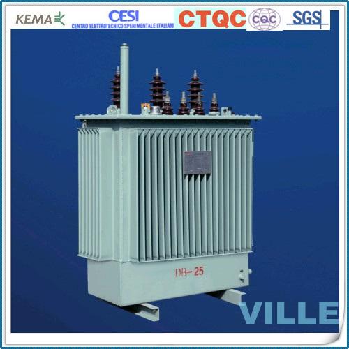 2mva S10-Ms Series 6kv/10kv Petrochemail Power Transformer