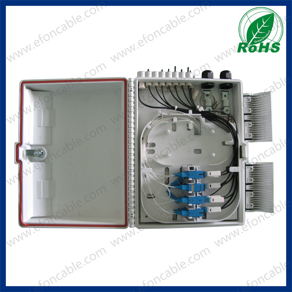 FTTH Fiber Optic Distribution Box for 16 Core