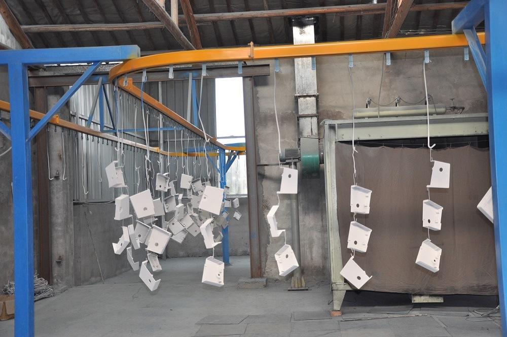 Steel Box Powder Coating Plant